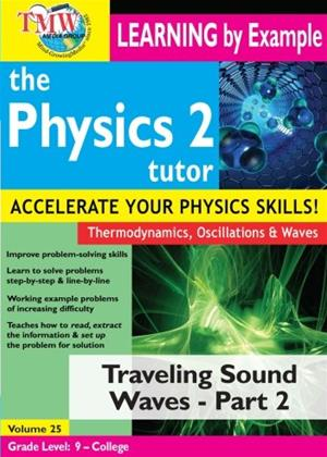 The Physics Tutor 2: Travelling Sound Waves: Part 2 Online DVD Rental