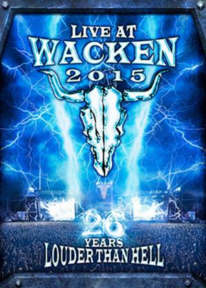 Rent Live at Wacken 2015: 26 Years Louder Than Hell Online DVD Rental