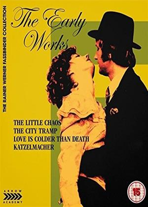Rent The Early Works of Rainer Werner Fassbinder Online DVD Rental