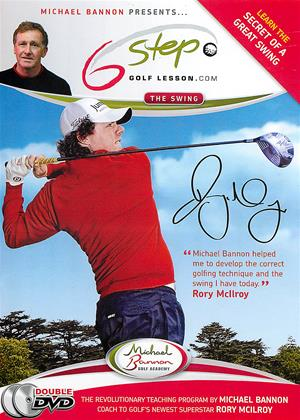 Six Steps to Better Golf with Michael Bannon Online DVD Rental