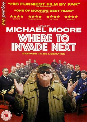 Where to Invade Next Online DVD Rental