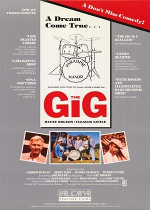 Rent The Gig Online DVD Rental