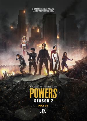 Powers: Series 2 Online DVD Rental