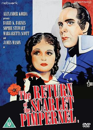The Return of the Scarlet Pimpernel Online DVD Rental