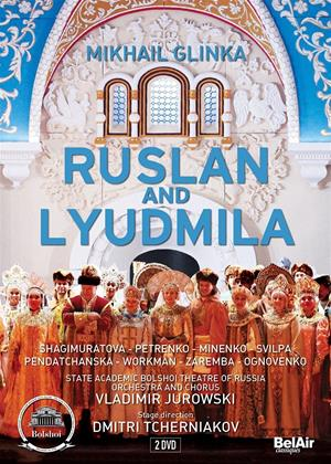 Rent Ruslan and Lyudmila: Bolshoi Theatre of Russia (Jurowski) Online DVD Rental