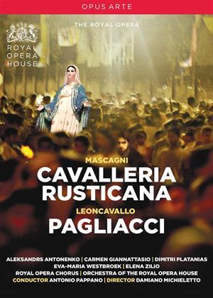 Rent Cavalleria Rusticana / Pagliacci: The Royal Opera (Pappano) Online DVD Rental