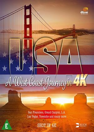 USA: A West Coast Journey in 4K Online DVD Rental