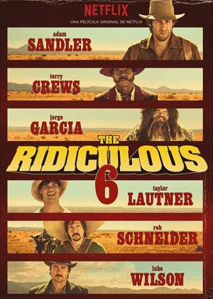 The Ridiculous 6 Online DVD Rental