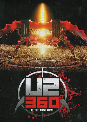 U2: 360 Degrees at the Rose Bowl Online DVD Rental