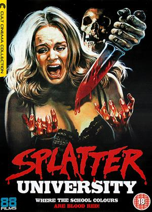 Splatter University Online DVD Rental