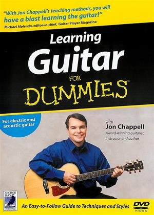 Rent Learning Guitar for Dummies Online DVD Rental