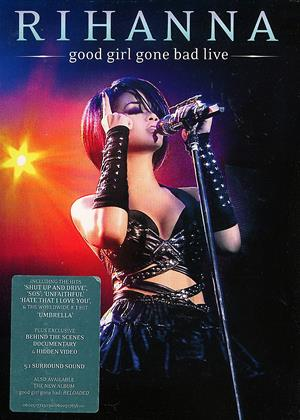 Rent Rihanna: Good Girl Gone Bad Live Online DVD Rental