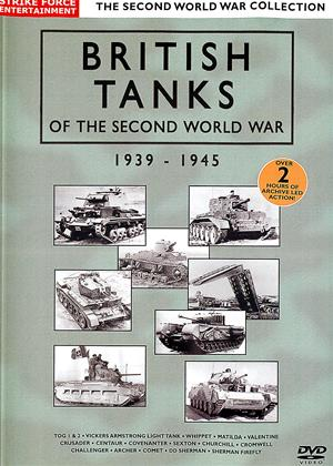 Rent British Tanks of the Second World War (aka World War II Documentary: British Tanks of the Second World War 1939-1945) Online DVD Rental