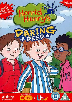 Rent Horrid Henry: Daring Deed Online DVD Rental