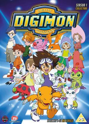 Digimon: Digital Monsters: Series 1 Online DVD Rental