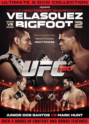 UFC: 160: Velasquez vs. Bigfoot Online DVD Rental