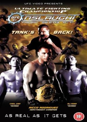 UFC 41: Onslaught Online DVD Rental