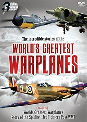 Rent World's Greatest Warplanes Online DVD Rental