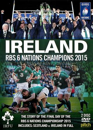Rent Ireland: RBS 6 Nations Champions 2015 Online DVD Rental