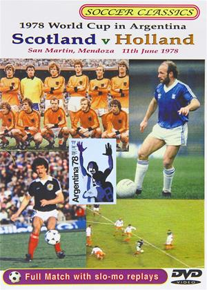 1978 World Cup: Scotland vs. Holland Online DVD Rental