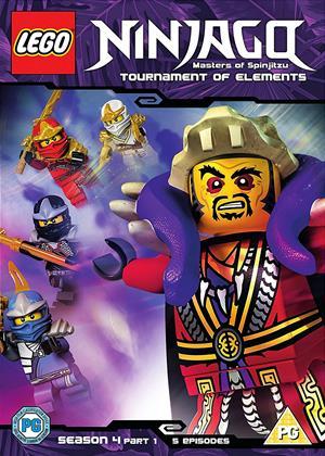 Lego Ninjago: Masters of Spinjitzu: Series 4: Part 1 Online DVD Rental