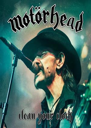 Rent Motörhead: Clean Your Clock Online DVD Rental
