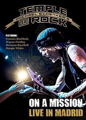 Rent Michael Schenker's Temple of Rock: On a Mission: Live in Madrid Online DVD Rental