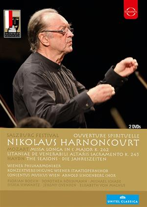 Rent Salzburg Festival: Nikolaus Harnoncourt Online DVD Rental