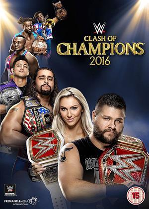 Rent WWE: Clash of Champions 2016 Online DVD Rental