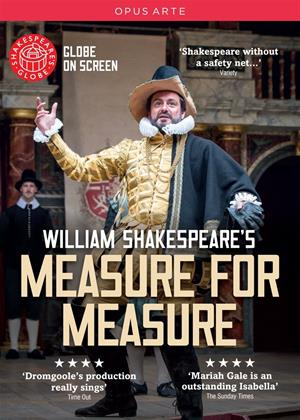 Rent Measure for Measure: Shakespeare's Globe Online DVD Rental