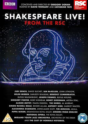 Shakespeare Live! from the RSC Online DVD Rental