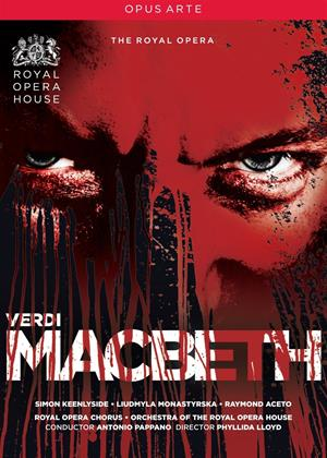 Macbeth: Royal Opera House (Antonio Pappano) Online DVD Rental