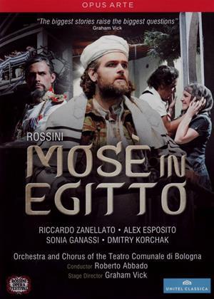 Rent Mosè in Egitto: Rossini Opera Festival (Roberto Abbado) Online DVD Rental