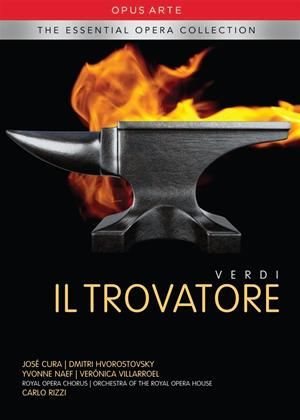 Verdi: Il Trovatore: Royal Opera House (Carlo Rizzi) Online DVD Rental