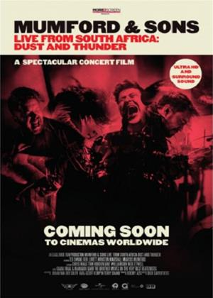 Mumford and Sons: Live from South Africa: Dust and Thunder Online DVD Rental
