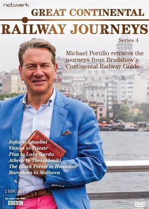 Rent Great Continental Railway Journeys: Series 4 Online DVD Rental