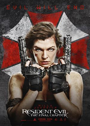 Rent Resident Evil: The Final Chapter Online DVD Rental