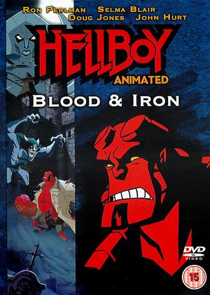 Hellboy Animated: Blood and Iron Online DVD Rental