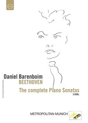 Rent Daniel Barenboim: Beethoven: The Complete Piano Sonatas Online DVD Rental