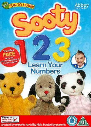Rent Sooty: 123 Learn Your Numbers Online DVD Rental