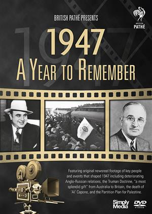 A Year to Remember: 1947 Online DVD Rental