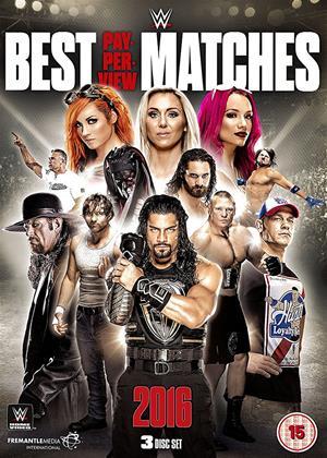 WWE: Best PPV Matches 2016 Online DVD Rental