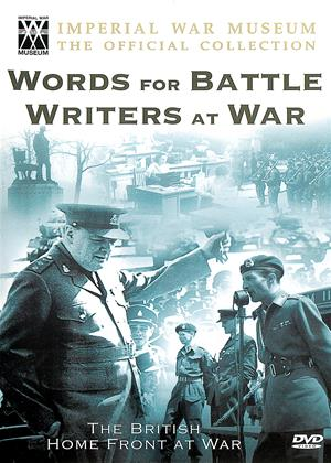Words for Battle, Writers at War Online DVD Rental