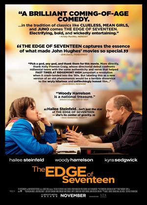 The Edge of Seventeen Online DVD Rental