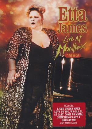 Rent Etta James: Live at Montreux 1993 Online DVD Rental