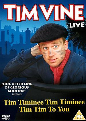 Tim Vine: Live Online DVD Rental