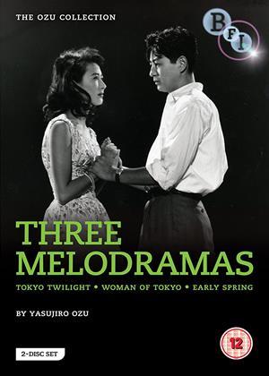 Yasujiro Ozu: Three Melodramas Online DVD Rental