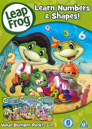 Leap Frog: Learn Numbers and Shapes Online DVD Rental