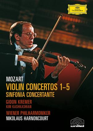 Mozart: Violin Concertos 1-5: Gidon Kremer Online DVD Rental