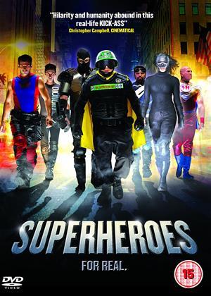 Superheroes Online DVD Rental